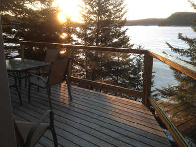 Sunny Slope Bed and Breakfast Sunset view